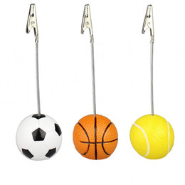 $enCountryForm.capitalKeyWord UK - Memo Clip Resin Sport Golf Baseball Football Ball Games Metal Crocodile Jaw Message Holder Home Office Decor 3 98zs F R