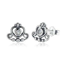 183dc2cf2 196f0 96abd; ebay new arrival 100 925 sterling silver earring rose white  bow stud earrings with logo for
