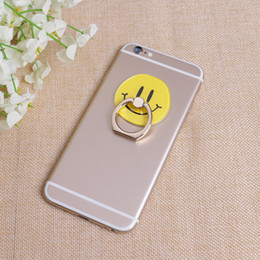 Mobile Images NZ - Hot sale wholesale 10pcs Cartoon image 360 degree rotary ring lazy mobile phone holder Apply to all mobile phones free shipping 055