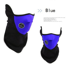 Filter Mask Bike Canada - Winter Cyling Half Face Mask Bicycle Filter Ski Motocycle Cover Neck Protector Guard Scarf Bandana Bike Cold Anti Pollution
