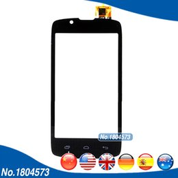 "$enCountryForm.capitalKeyWord Australia - Wholesale- 4.0"" Touch Panel Digitizer For Fly IQ4490 IQ 4490 Front Glass Touchscreen Sensor Black White 1PC Lot"
