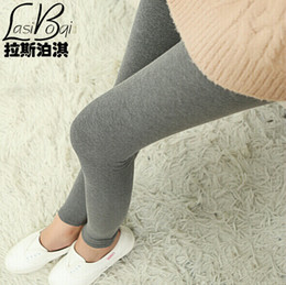 плюс размер гетры оптовых-Cheap New Ms Fashion Sexy s Women s Big Underwearw Large Casual Cotton Solid Color Plus Size Thin Large Leggings Pants Fat