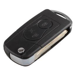 $enCountryForm.capitalKeyWord Australia - Guaranteed 100% For Ssangyong 2 BUTTON Flip Remote Key Case SHELL For Actyon SUV Kyron Free Shipping