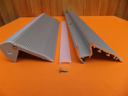 Discount Stair Accessories Free Shipping Hot Selling 2m Pcs Aluminum Stair  Profile With Cover And Accessories