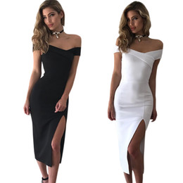 Barato Casual Vestido Preto Longo Praia-Mulheres Sexy Maxi Dress Summer Casual Moda Vestidos Plus Size Vestuário Sexy Beach Party Club Black White Long Dress