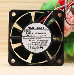 6cm Fan Australia - Original NMB 2410ML-05W-B59 6025 6CM 24V 0.13A 3 line stop alarm frequency converter fan