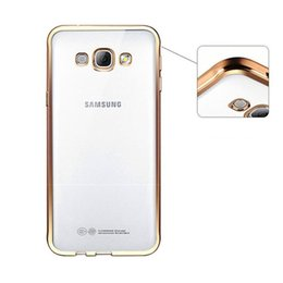 Crystal Clear Phone Cases NZ - For Samsung J730 J530 J7 J5 Luxury Ultra Thin Clear Crystal Rubber Plating Electroplating TPU Soft Mobile Phone Case