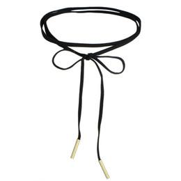 Wholesale Metal Chokers UK - Vintage Velvet Chokers Necklaces for Women Multilayer Black Velvet Bowknot Choker Necklaces with Metal Strip Pendants Fashion Jewelry