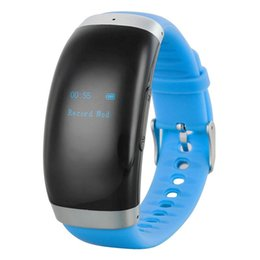 China Wholesale-Smart Wrist Watch Digital Voice Recorder w  16GB Memory - Black + Blue suppliers