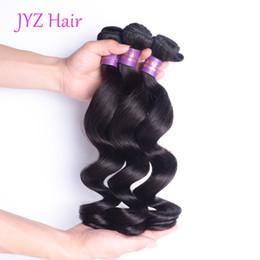$enCountryForm.capitalKeyWord Australia - Brazillian Peruvian Indian Malaysian Virgin Hair Weave Loose Wave Grade Virgin Unprocessed Human Hair Loose Wave Cheap Hair Bundles Products