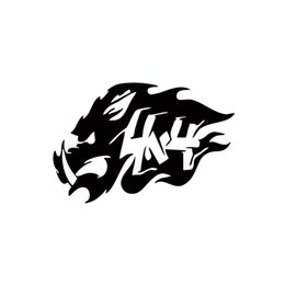 online shopping Boar Totem Fangs Hog Hunting Car Sticker For Truck Window Car Styling Bumper Door Motorcycle Automotive Exterior Vinyl Decal