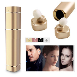 $enCountryForm.capitalKeyWord Canada - Newest Luxury Twins Wireless Stereo Bluetooth V4.1 Mini TWS K2 K3 T8 X1T Headset Lipstick-Sized In-Ear Earphones Earbuds For Smart Phone