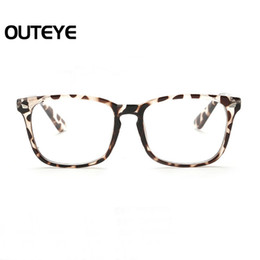 Chinese  Wholesale- Optical Myopia Glasses Fashion Clear Lens Eyewear Nerd Eye Glass Frame Transparent Computer Eyeglasses Frame For Men Women manufacturers