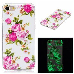 Glow dark iphone 5s case luminous online shopping - Bling Glow in dark Flower Tree Owl TPU Soft Case For Iphone X XS MAX XR PLUS S SE S C Luminous Skull Butterfly Dreamcatcher Cover
