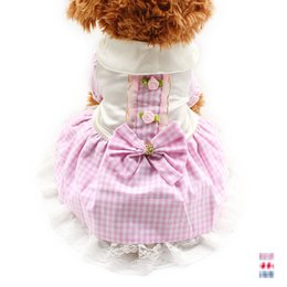 Female Dresses NZ - armipet Roses To Decorate Summer Dog Princess Skirt Dog Dresses 6071035 Puppy Clothing Supplies XS, S, M, L, XL