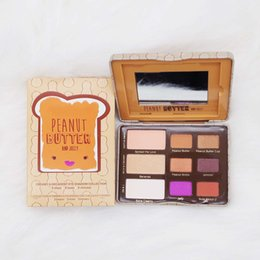 $enCountryForm.capitalKeyWord NZ - Newest Peanut butter & Jelly Eyeshadow Palette 9 colors full size Long-lasting Cosmetics DHL Free Makeup