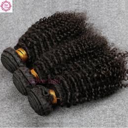 Vente en gros 8A Brésilienne Vierge Cheveux 3 Bundles Slove Rosa Cheveux Produits de Haute Qualité Brésilien Crépus Bouclés Vierge Humaine Cheveux Livraison Gratuite