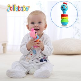 Wholesale Baby Rattle Toys Animal Hand Bells Plastic Baby Toy High Quality Newbron Gift Christmas Animal Style WJ300