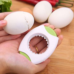 Metal products online shopping - Egg shell cutter Easily break open hull Egg Topper The kitchen essential creative products Multicolor randomly send