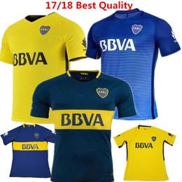 New BOCA Soccer Jersey Carlos Tevez Morbi Jersey camisas de futebol  Riquelme Gago Fotball shirts Carlitos Argentina Boca Juniors Maillot ... 44993a642