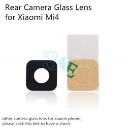 Glasses Spare Parts Canada - Wholesale-Genuine Original Glass Lens for Xiaomi Mi4 Mi Note 4 Mi5 Rear Back Camera Glass Lens Cover Replacement Phone Repair Spare Parts