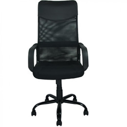 New Black Modern Fabric Mesh High Back Office Task Chair Computer Desk Seat