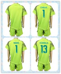 blank jersey navy top fast uniforms kit youth kids 2017 2018 real madrid soccer jersey 1 casillas 1 2016 uefa euro spain home goalkeeper