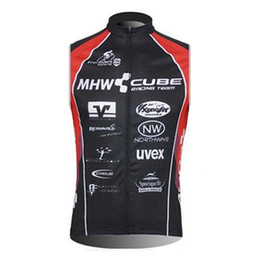 Team Shirts Cheap Canada - New CUBE Pro Team Cycling Sleeveless jersey MTB maillot Ropa Ciclismo Mountain Bicycle Clothing Racing Bike shirts china cheap clothes B2503