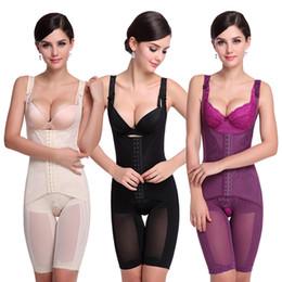 d9e6023a3 Wholesale- Women Seamless Full Body Shaper Waist Underbust Cincher Suit  Control Firm Tummy