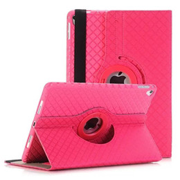 Wholesale 360 Rotating Magic Girl Flip PULeather Stand Case Cover For Apple iPad iPad iPad protective skin tablet cases