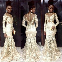 Discount Long African Styles Lace Chiffon Long African