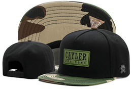 hat swag style NZ - Wholesale and Retail New Styles Swag CAYLER & SONS Snapback Caps Flat Hip Hop Cap Baseball Hats for Men Snapbacks