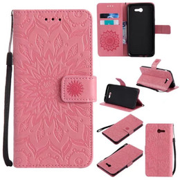 Huawei p8 lite poucHes online shopping - Mandala Sun Flower Wallet Leather Pouch Case For Samsung Galaxy J5 J3 J7 LG K8 K10 Huawei P10 P8 Lite MOTO G5 Henna Stand Phone Cover