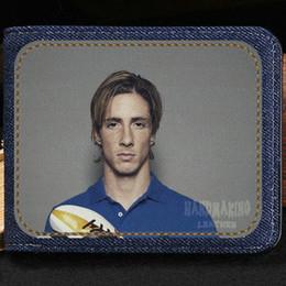 $enCountryForm.capitalKeyWord NZ - Fernando Jose Torres Sanz wallet Nice purse Football short cash note case Money notecase Leather burse bag Card holders
