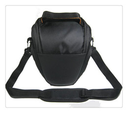 Dslr Cameras Bags Canada - Camera Case Bag Nylon for NIKON DSLR D4 D800 D7000 D5100 D5000 D3200 D3100 D3000 D80 Shoulder Bag High Quanlity wholesale