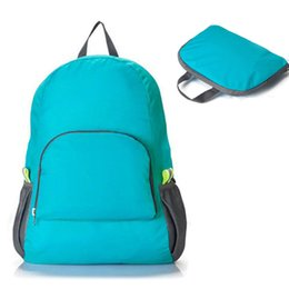 Hot School Bags Canada - Wholesale- 2015 Hot Sale Travel Bag Folding Capacity Mountaineering Backpack Admission Package Student School Backpack Bags High Quality