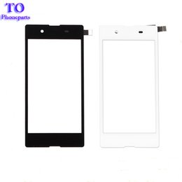Discount replacement for xperia - Touchscreen Digitizer Panel For Sony Xperia E3 D2203 D2206 D2243 D2202 Touch Screen Front Outer Glass Lens Replacement