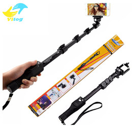 HandHeld bluetootH selfie stick monopod online shopping - Quality Goods yunteng Bluetooth Wireless Extendable Handheld Selfie Stick Monopod With Zoom for iPhone samsung Selfie Sticks