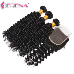 $enCountryForm.capitalKeyWord Australia - Deep Curly Weave Virgin Human Hair Bundles Peruvian Loose Deep Hair Weaves 3 Bundles With Closure Deep Wave Brazilian Human Hair Extensions