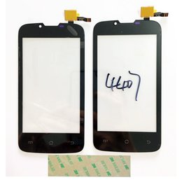 Wholesale New Tested Phone Touch Screen For Fly IQ4407 ERA Nano IQ Sensor Touch screen Front Panel Digitizer Glass M Sticker