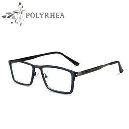 discount wide frame eyeglasses wide eyeglasses frame full rim men optical frame brand designer eyeglasses clear - Wide Frame Glasses