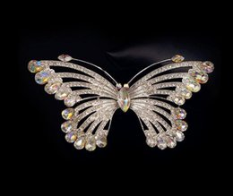 $enCountryForm.capitalKeyWord NZ - Woman headdress hair Colorful plaid (jewelry) Crystal Butterfly Brooch Pin Brooch all-match elegant female H0100 accessories