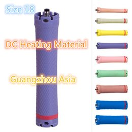 Heated Roller Hair Australia - 2017 hot sale salon use hair perm roller, rod, curler, DC material, water-proof, 36V, size 18