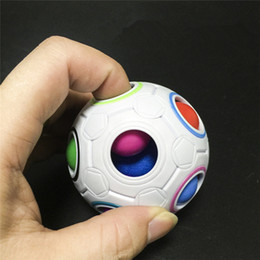$enCountryForm.capitalKeyWord Canada - Rainbow Ball Magic Cube Speed Football Fun Creative Spherical Puzzles Kids Educational Learning Toys games for Children Adult Gifts
