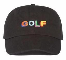 Red Black Grey Shirts Canada - Tyler The Creator Golf Hat - Black Dad hat Cap Wang Cross T-shirt Earl Odd Future Casquette NOSTALGIA Wave Hat