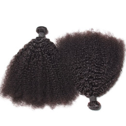 $enCountryForm.capitalKeyWord UK - Peruvian Virgin Human Hair Afro Kinky Curly Wave Unprocessed Remy Hair Weaves Double Wefts 100g Bundle 2bundle lot Can be Dyed Bleached