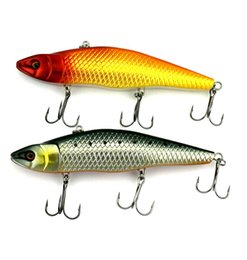 free plastic fishing lures NZ - Free Shipping 14.8cm 48.5g Big Lures Plastic Bait With 2# Hook VIB Hard Bait Fishing Tackle