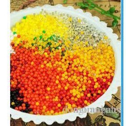 Wholesale water beads g Magic Plant Crystal Soil Mud Water Beads Pearl ADS Jelly Crystal ball soil O
