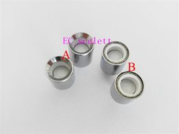 $enCountryForm.capitalKeyWord UK - Ceramic donut coil head wax dome coil with ceramic plate ceramic donut coil for glass globe cannon vase skillet vaporizer atomizer