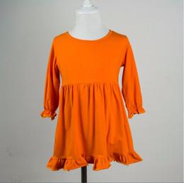 $enCountryForm.capitalKeyWord Canada - girls flutter dress boutique baby kids winter long sleeve dress fine cotton ruffle dress